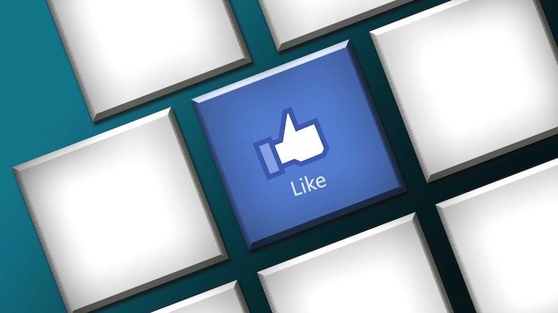 Pagina Facebook like